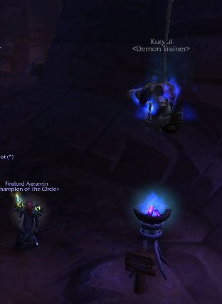 And from the raid instance, it looks like they didn't surrender quietly.